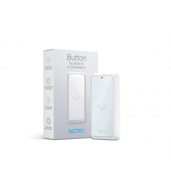 Tlačítko - AEOTEC Button for Doorbell 6 or Indoor Siren 6