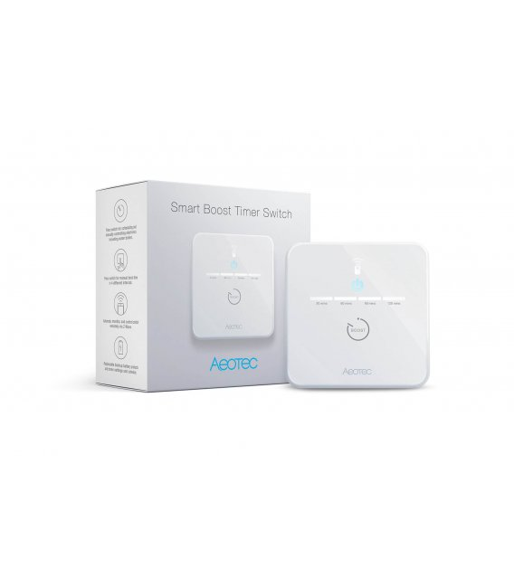 Časový spínač - AEOTEC Smart Boost Timer Switch