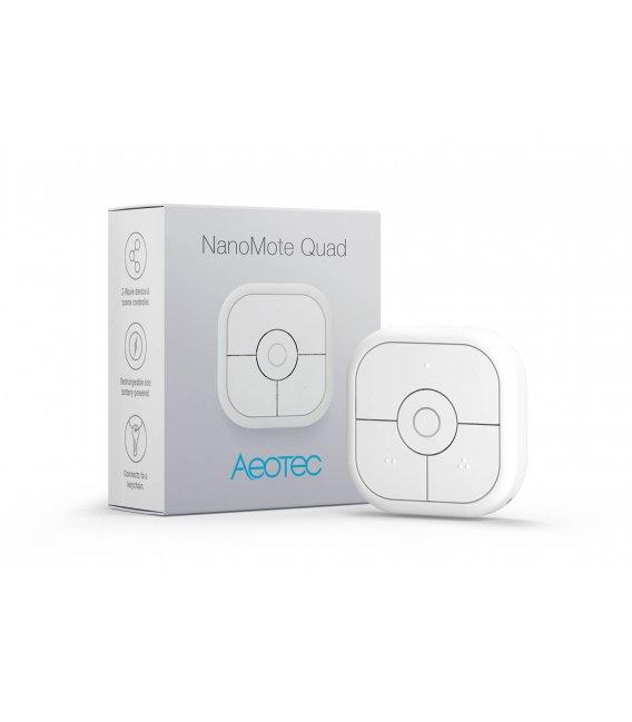 Dálkový ovladač - AEOTEC NanoMote Quad