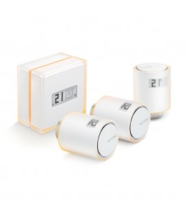 Netatmo Smart Thermostat + 3 Smart Radiator Valves