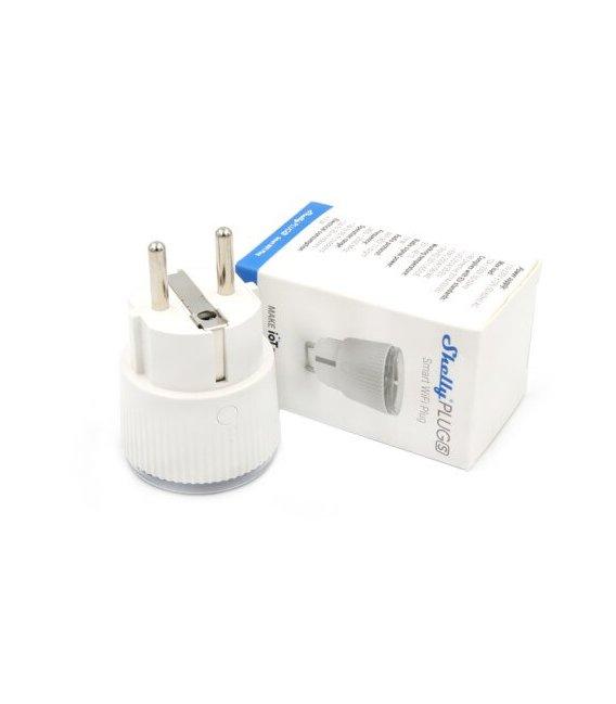 Shelly Plug S - inteligentná zásuvka s meraním spotreby (WiFi)