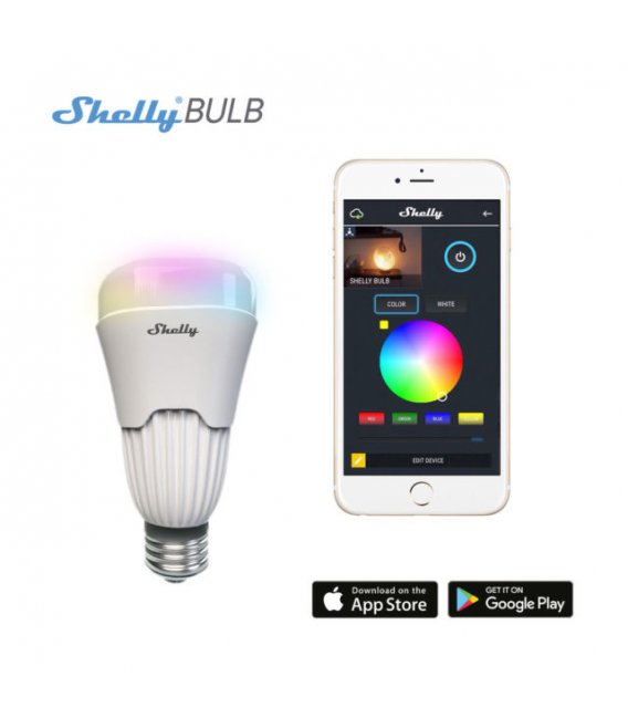Shelly Bulb - Intelligent RGBW Bulb (WiFi)
