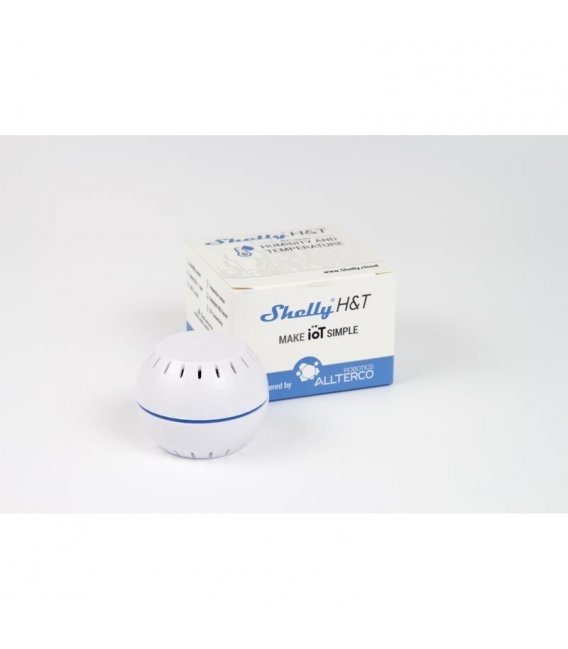 Shelly H&T - temperature and humidity sensor (WiFi)