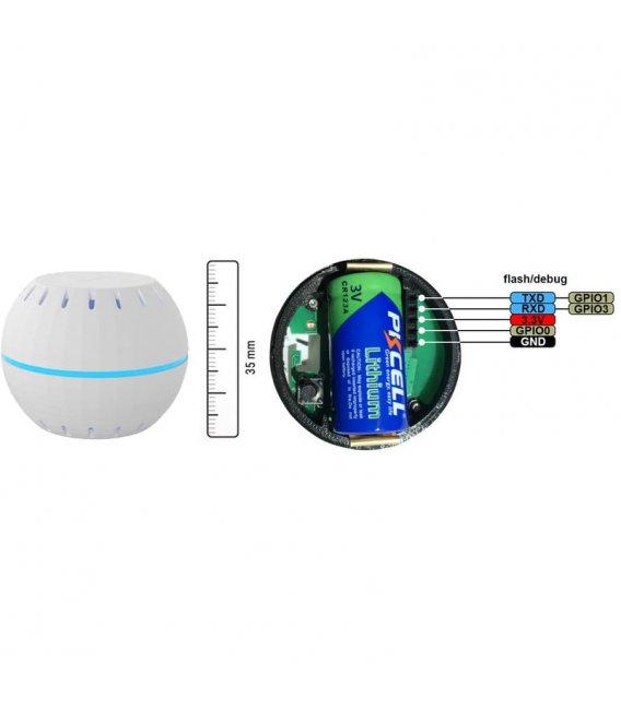 Shelly H&T - bateriový senzor teploty a vlhkosti (WiFi)