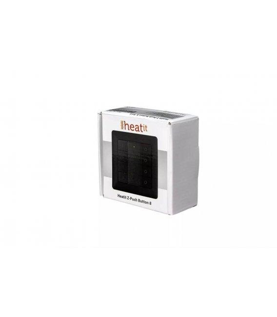HEATIT Z-Push Button 8 - Black