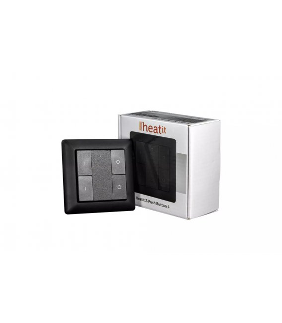 HEATIT Z-Push Button 4 - Black
