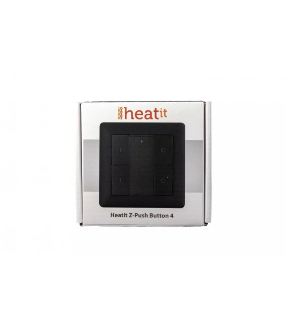 HEATIT Z-Push Button 4 - Čierny
