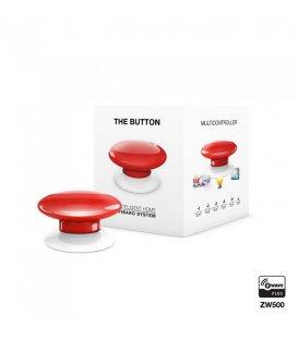 Ovládač scén - FIBARO The Button (FGPB-101-3 ZW5) - Červené - Použité