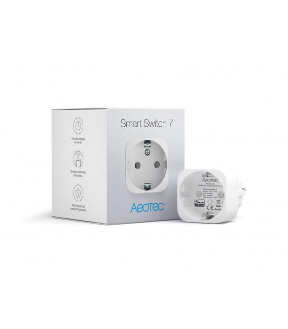 Inteligentní zásuvka - Aeotec Smart Switch 7 (ZW175-C16)