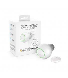 HomeKit termostatická hlavice s teplotním senzorem - FIBARO The Heat Controller Starter Pack HomeKit - Použité