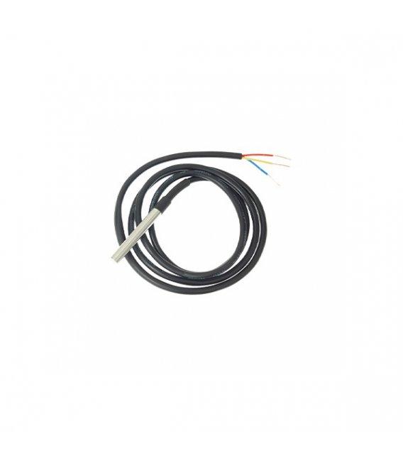 DS18B20 Digitálny One-Wire teplotný senzor pre prídavný modul určený pre Shelly 1/1PM