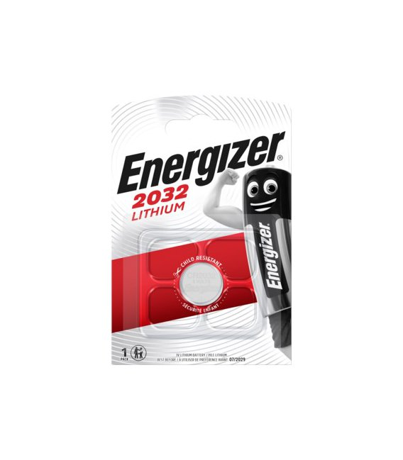 Lithiová baterie Energizer CR2032 3V, 1 ks