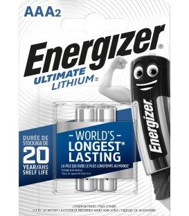 Lítiová batéria Energizer AAA-LR03 1.5V, 2 ks