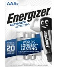 Lithium battery Energizer AAA-LR03 1.5V, 2 pcs