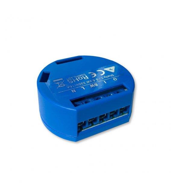Shelly 1 - relay switch 1x 16A (WiFi)