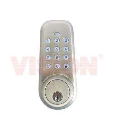 Z-Wave bezdrátový zámek na dveře (bez kliky)
