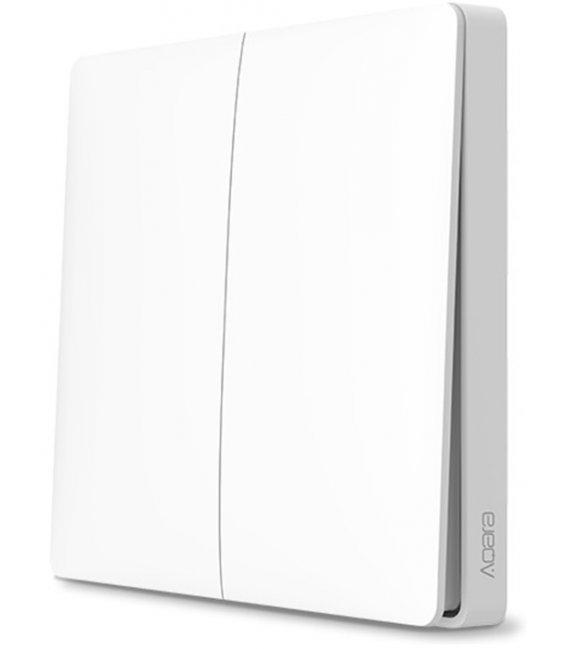 Zigbee dvoj tlačidlový batériový vypínač - AQARA Wireless remote switch Double Rocker (WXKG02LM)