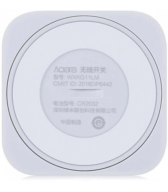 Zigbee batériový vypínač - AQARA Wireless Switch Mini (WXKG11LM)