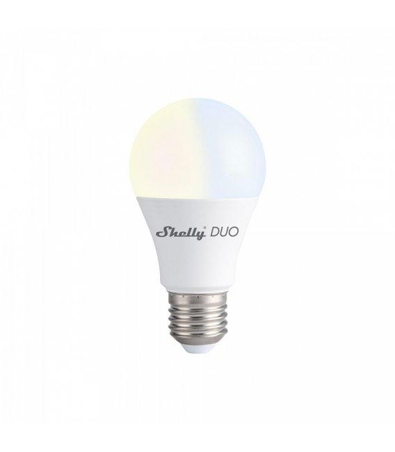 Shelly DUO - inteligentná biela žiarovka (WiFi)