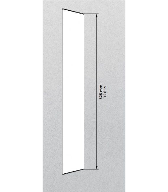 DoorBird D2101KV Surface-mounting housing (backbox), Stainless Steel V2A, Brushed