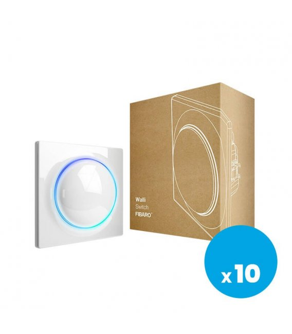 FIBARO Walli Switch (FGWDSEU-221), 10pack