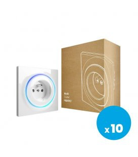 Inteligentní zásuvka - FIBARO Walli Outlet type E (FGWOE-011), 10ks