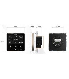 HELTUN Heating Thermostat (HE-HT01-WW), Z-Wave termostat pro elektrické topení