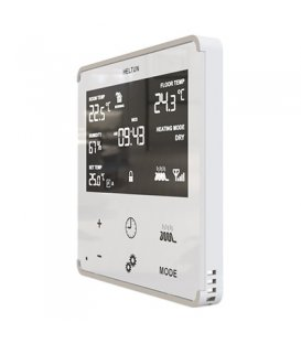 HELTUN Heating Thermostat (HE-HT01-WWM), Z-Wave thermostat for electric heating, White