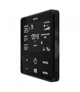 HELTUN Fan Coil Thermostat (HE-FT01-MKK), Z-Wave termostat pre fan coil systémy, Čierny