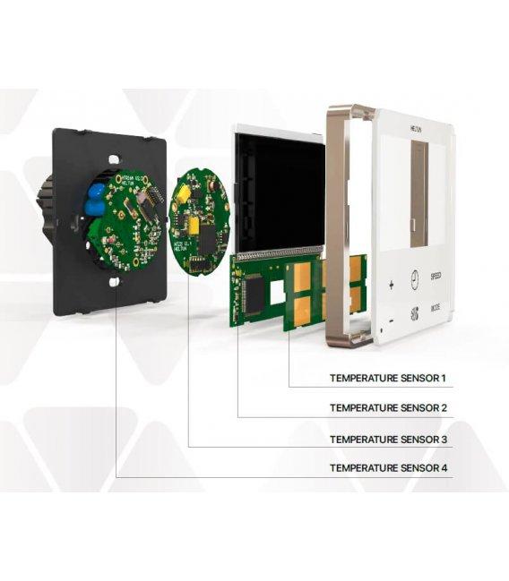 HELTUN Fan Coil Thermostat (HE-FT01-GKK), Z-Wave termostat pre fan coil systémy