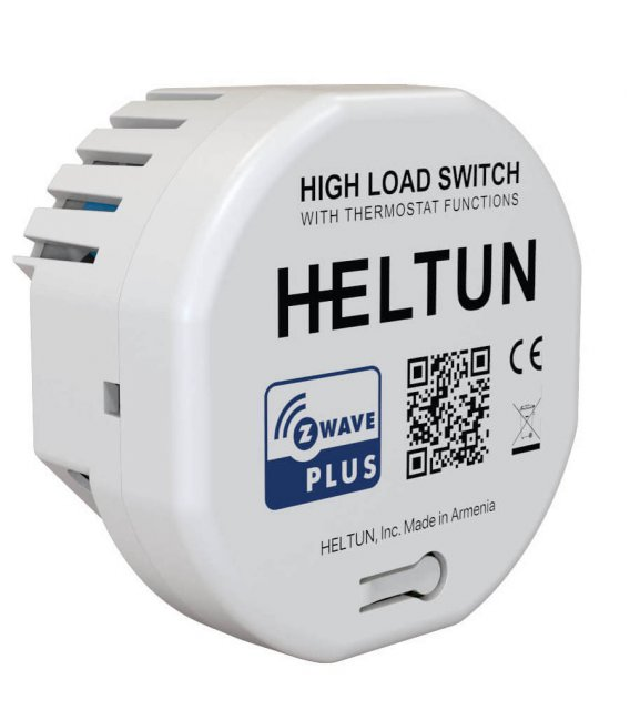 HELTUN High Load Switch (HE-HLS01), Z-Wave relé modul 16A