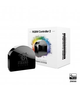 Ovládání LED pásů - FIBARO RGBW Controller 2 ZW5 (FGRGBWM-442) - Použité