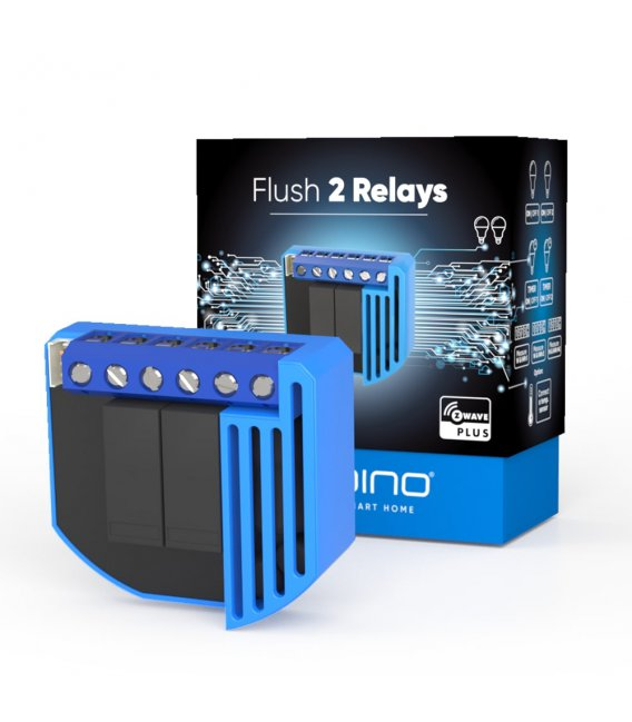 Qubino Flush 2 Relays Plus
