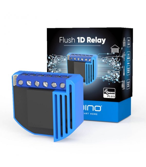 Qubino Flush 1D Relé Plus [ZMNHND1]