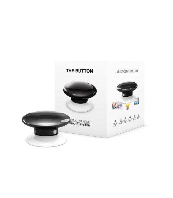 Ovládač scén - FIBARO The Button (FGPB-101-2 ZW5) - Čierne