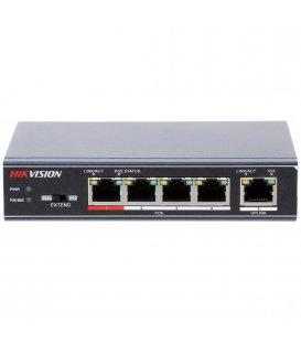 Hikvision DS-3E0105P-E Switch, 5 Portu, PoE
