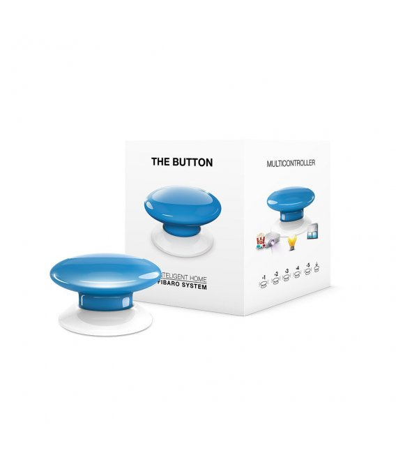Ovladač scén - FIBARO The Button (FGPB-101-6 ZW5) - Modré
