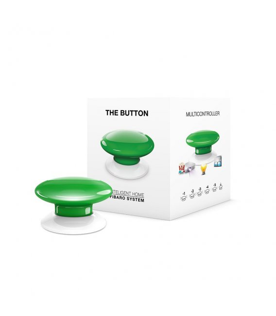 Ovladač scén - FIBARO The Button (FGPB-101-5 ZW5) - Zelené