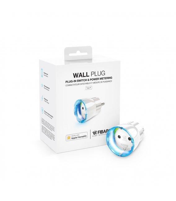 HomeKit inteligentní zásuvka - FIBARO Wall Plug Type F HomeKit (FGBWHWPF-102)