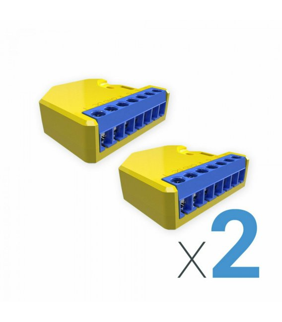 Shelly RGBW2 - 2 kusy modul řízení LED pásků 4x PWM 12/24V (WiFi)