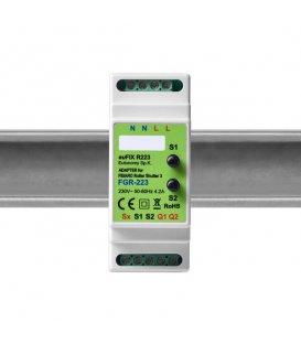 euFIX R223 DIN adaptér (s tlačidlom)