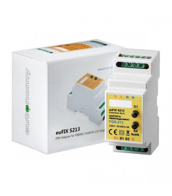 Eutonomy euFIX S213 DIN adaptér (s tlačidlom)