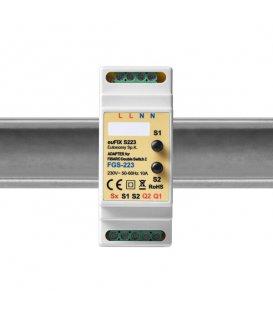 Eutonomy euFIX S223 DIN adaptér (s tlačidlom)