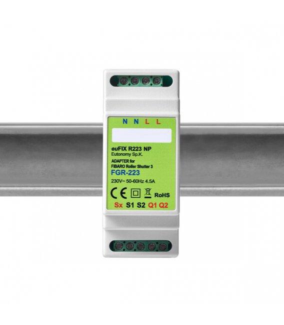 Eutonomy euFIX R223 NP DIN adaptér (bez tlačítka)