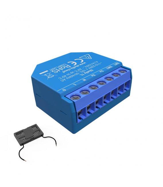 Shelly 1L + Bypass - spínací modul bez nutnosti neutrálního vodiče 1x 4A (WiFi)