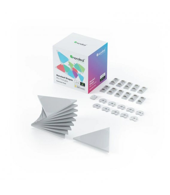 Nanoleaf Shapes Triangles Mini Expasion Pack (10 Panels)