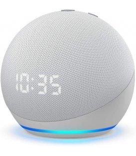 Amazon Echo Dot 4. generácie s hodinami Glacier White