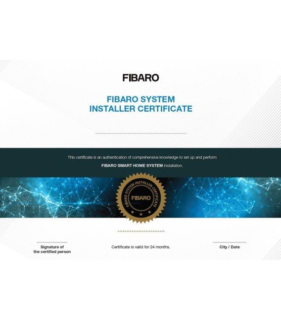 FIBARO Certifikované Školení