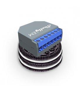 Shelly EM bez svorky - meranie spotreby až s 2 svorkami do 120A, výstup 1x2A (WiFi)