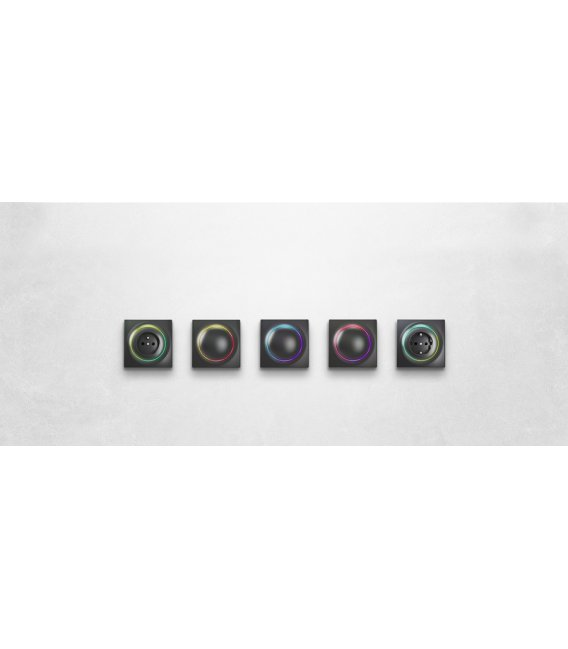 FIBARO Walli Outlet type E Anthracite (FGWOE-011-8)
